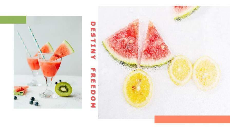 summer美食之西瓜介绍宣传PPT模板的第4张内容图片