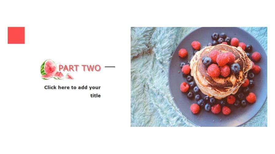 summer美食之西瓜介绍宣传PPT模板的第7张内容图片