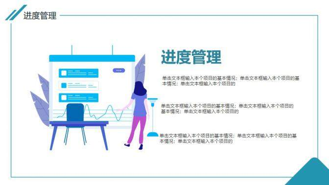 项目管理总结报告动态PPT模板的第6张内容图片